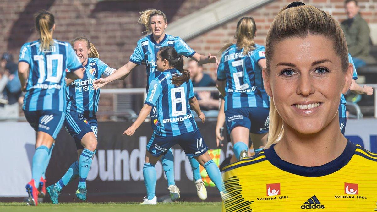 d8167704 Djurgården Fotboll - OBOS prisar Olivias VM-plats